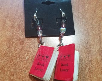 Book Lover Earrings