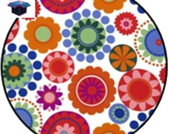 1 cabochon clear size 10 mm theme fabrics