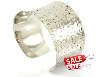 Silver Cuff Bracelet Silver Bracelet Cuff Brass Cuff Bracelet Brass Bracelet Cuff Wide Cuff Bracelet Silver Hammered Bracelet Cuff 004