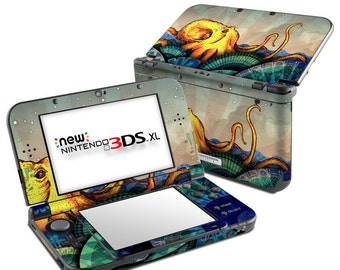Nintendo 3DS XL Skin - From the Deep by FP - Sticker Decal Wrap - Fits New and Original