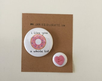 La Saint-Valentin 2 bouton set-sweet treats