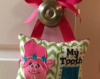Troll Tooth Fairy Pillow