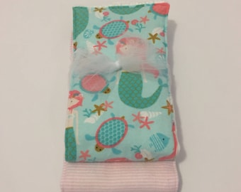 Mermaid Burp Cloth Combo