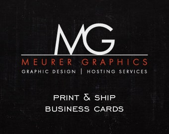 Print and Ship 1000 Business Cards