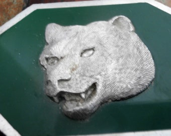 Bear Head Western Belt Buckle