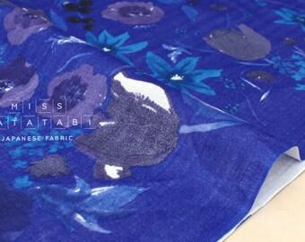 Nani Iro Kokka Japanese Fabric Fuccra : rakuen - H - 50cm