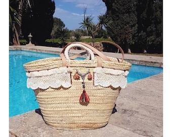 Bohemian Chic basket natural