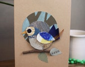 Blue Bird Greeting Card B...