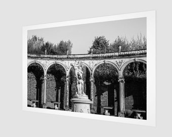 Garden of Versailles Paris Archival Quality Art Print, 1:50 Limited Edition / wall art / home decor / modern / industrial / vintage /.