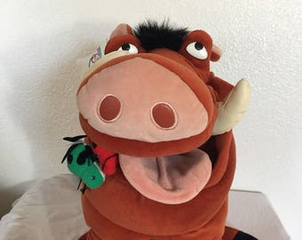 Vintage Lion King Pumbaa Plush!