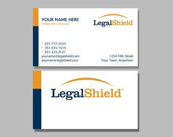 Legal Shield Business Card Design 2