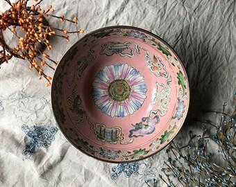 Vintage Asian Cloisonné Bowl