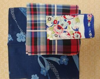 Vintage Cowgirl Handkerchief Trio