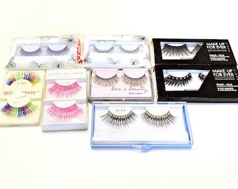 Fake Eyelashes Set of Eight Pair
