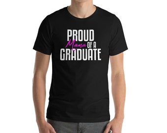 Proud Mom Of A Graduate T-shirt-Mother of the Graduate T-shirt-Senior 2018 Shirt-Proud Mom Of A Senior Shirt-Mom Of Graduate-Class Of 2018 S