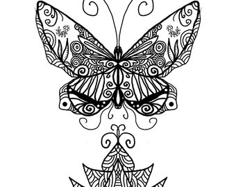 Downloadable Mandala Designs and Prints Coloring Pages (set of 5) SET A22