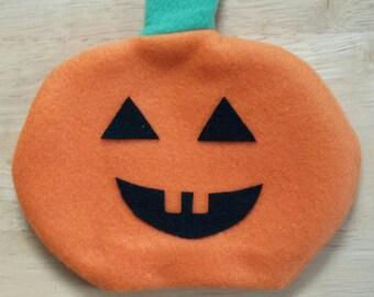Halloween, Jack-O-Lantern, Pumpkin, Orange, Hand Puppet