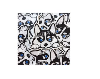 Siberian Husky Decal/Sticker