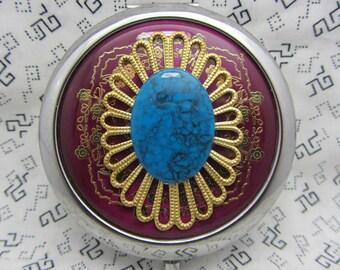 Queenie miroir compact est livré avec pochette cadeau de demoiselle d'honneur de toutes les occasions cadeau