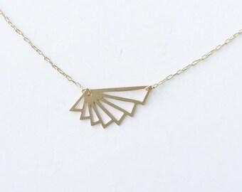 Fan Necklace | ATL-N-123