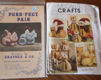 Soft Fabric Cat Dolls