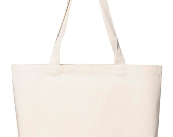 Plain Canvas Market Bag