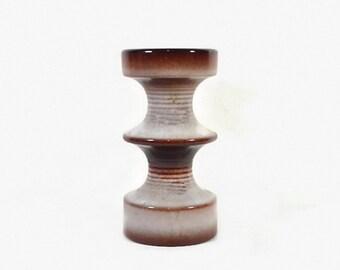 Vintage Canlde Holder Steuler Pottery West Germany