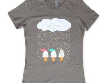 Chance of Raining Sprinkles WOMENS T-shirt
