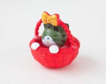 Mini puppy kitten basket
