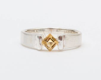 Use Code NEXT0RDER to get 10% off+ Free Shipping Citrine Ring, Sterling Silver Ring, Natural Citrine, Citrine Jewelry, November Birthstone