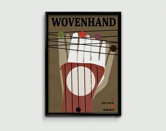 Wovenhand - music poster
