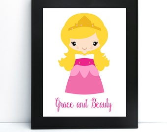 Sleeping Princess Printable