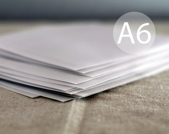 25 5x7 Translucent Envelopes A7 Vellum Envelopes White Envelope Design House Within Hou E A on