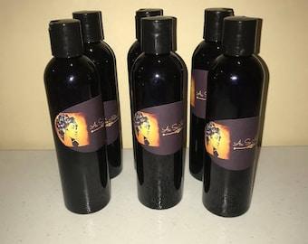 Organic African Black Soap Shampoo, Face & Body Wash