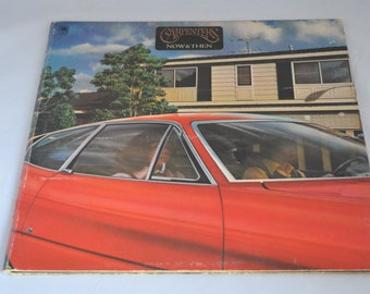 Vintage Gatefold Record The Carpenters: Now and Then Album SP-3519