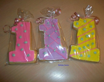 Birthday Party Favors, Baby Shower Favors, Bridal Shower Favors, Cookies for every occassion