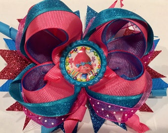 Princess Poppy Boutique Hairbow