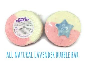 Superhero Lavender Bubble Bar - Natural Bubble Bath - Kids Bubble Bath - Moisturizing Bubble Bath - Super hero Party Favors - Avengers