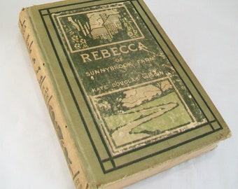 1903 Rebecca of Sunnybrook Farm, Kate Douglas Wiggin, Book