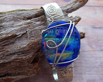 JEWELRY TUTORIAL, Wire Wrapped Free Form Cabochon Bracelet, Learn How To, Jewelry Patterns, Bracelet Tutorial, Instant Download