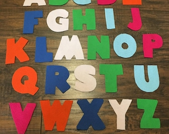 Felt Board Story, Letters A-Z, Alpahbet