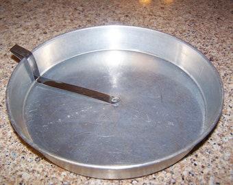 Stainless Steel Bottom Sweep Cake Tins - Set of 2