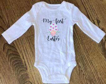 Babies First Easter Onesie