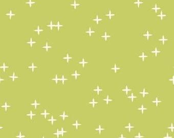 Wink Grass from Birch Fabrics - Organic Fabric - Kids Organic Fabric - Birch Organic Fabrics - Children Organic Fabrics -Organic Cotton