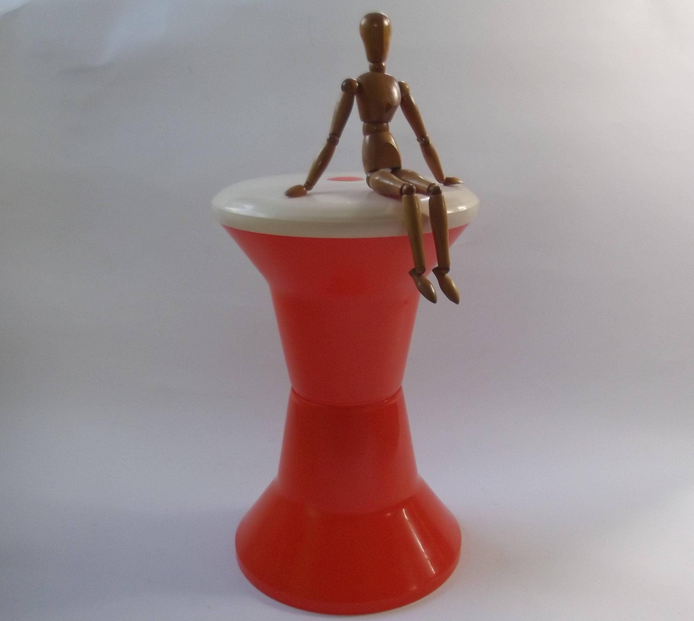 Vintage Tam Tam Stool Drum Stool Design Henry Massonnet