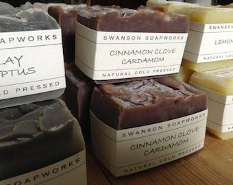 Cinnamon, Clove & Cardamom, All Natural Soap, Handcrafted Soap Bars
