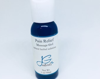 Pain Relief Natural Massage Oil