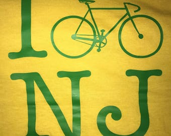 I love NY bicycle bike t shirt - all 50 states available