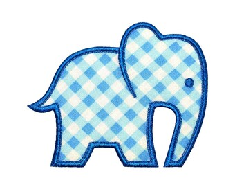 """Baby Elephant Appliques Machine Embroidery Designs Applique Pattern in 4 sizes 4"""", 5"""", 6"""" and 7"""""""