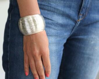 Silver Cuff Silver Bangle Silver Bracelet Hammered bangle Bangle Bracelet silver jewellery silver bangles unusual jewellery silver jewellery